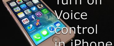 Why is voice control not working on iPhone?